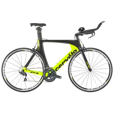 Vélo de Contre la Montre CERVÉLO P3 Shimano Ultegra R8000 36/52 Noir/Jaune